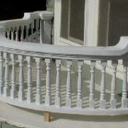 parade porch balustrade at 59 S. Gifford