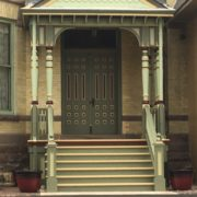 New porch at 364 Division